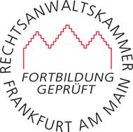 Prüfsiegel der RAK FFM